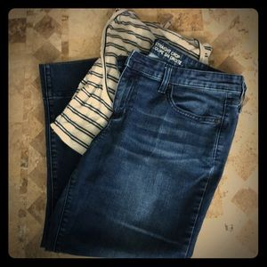 GAP Factory Cropped Jeans.